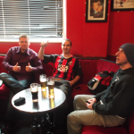 Pre-match Beers in Manchester, England