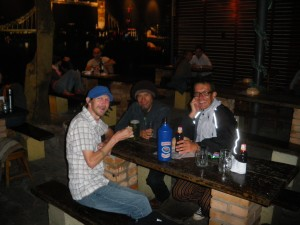 Travelling in Paraguay, South America - a night out in Asuncion.