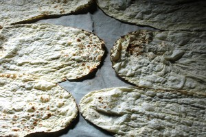 World's thinnest pita bread in Armenia
