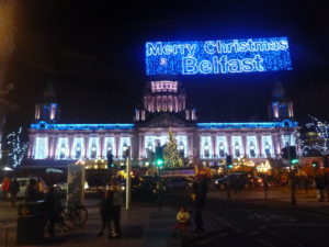 Christmas in Belfast City, Northern Ireland