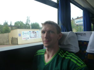 On the bus to Starogard Gdanski